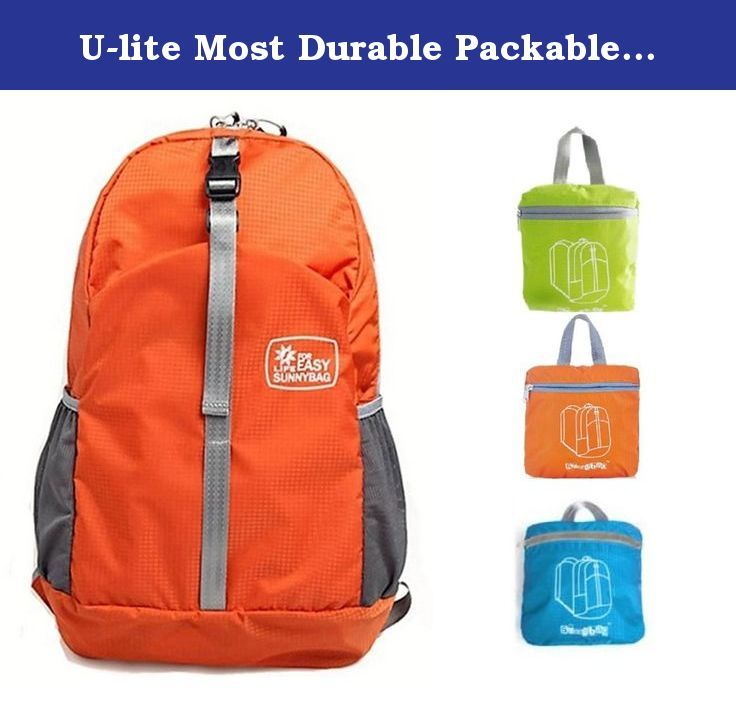 U-lite Most Durable Packable Lightweight Travel Hiking Backpack ...