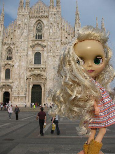 Blythe in Milan