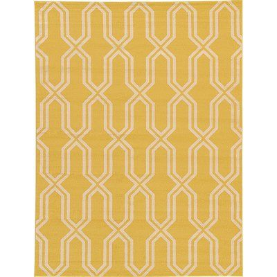 Yellow Patterned Rug Rugs Area Rugs Colorful Rugs