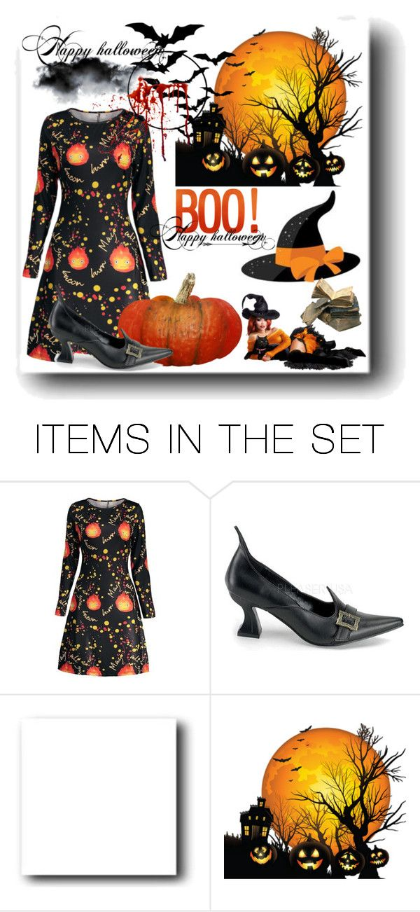 """""""Halloween dresses – contest sponsored by GAMISS.COM"""" by diamond-mara ❤ liked on Polyvore featuring art"""
