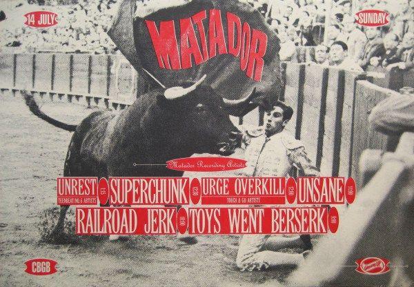 CBGBs Matador Records showcase