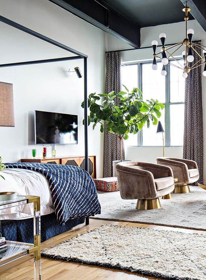 In Brooklyn, The Home Of Jonathan Adleru0027s Director Of Interiors. Bedroom  DesignsLiving ...