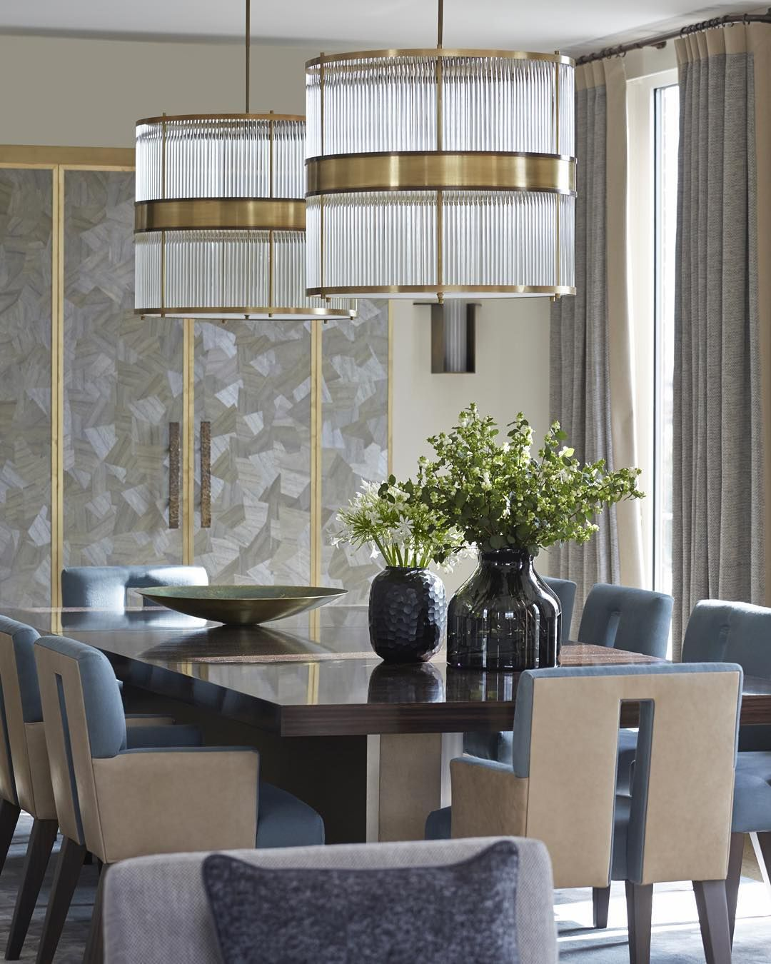 The Dining Room Of One Of Our Knightsbridge Penthousesthe Glass Delectable Living Room And Dining Room In One Inspiration