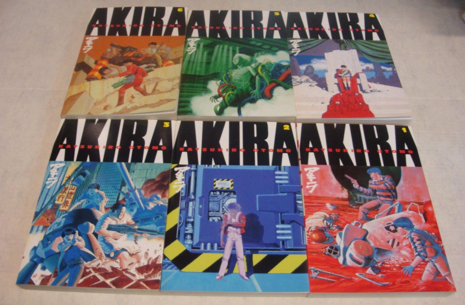 Akira Tpb Complete Set English Dark Horse Manga Volumes 1 6 Nm Condition Akira Dark Horse Manga
