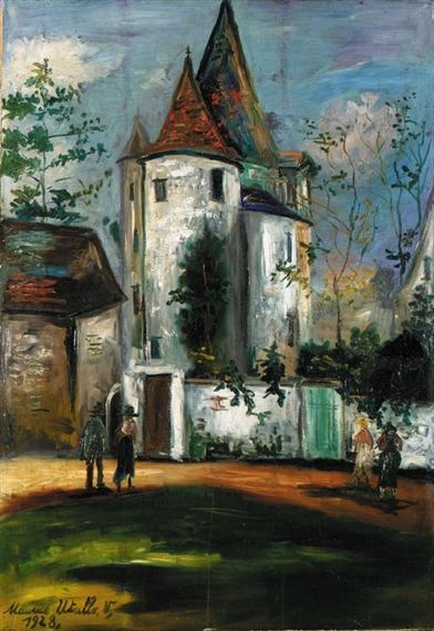 Artworks of Maurice Utrillo (French, 1883 - 1955) from galleries, museums and auction houses worldwide.