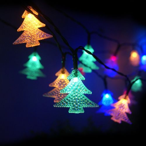 Solar Powered Christmas Decorations Outdoor