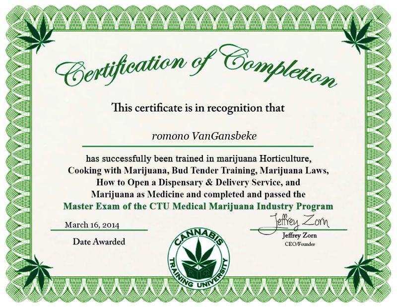 Ctu Masters Certification Studying Cannabis Research Pinterest