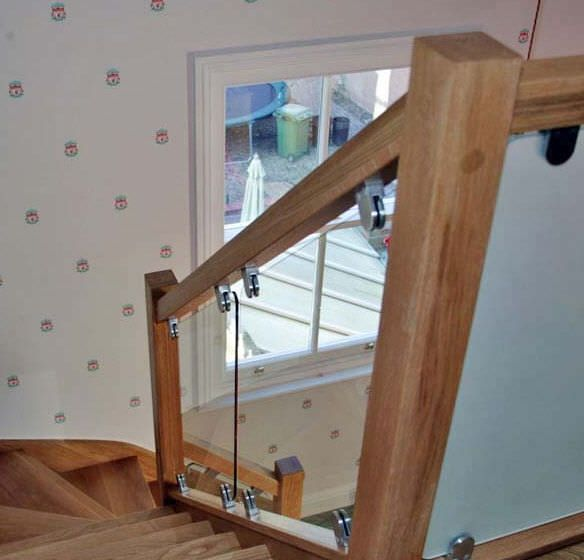 Best Wood And Glass Stair Railings Google Search Wood 400 x 300