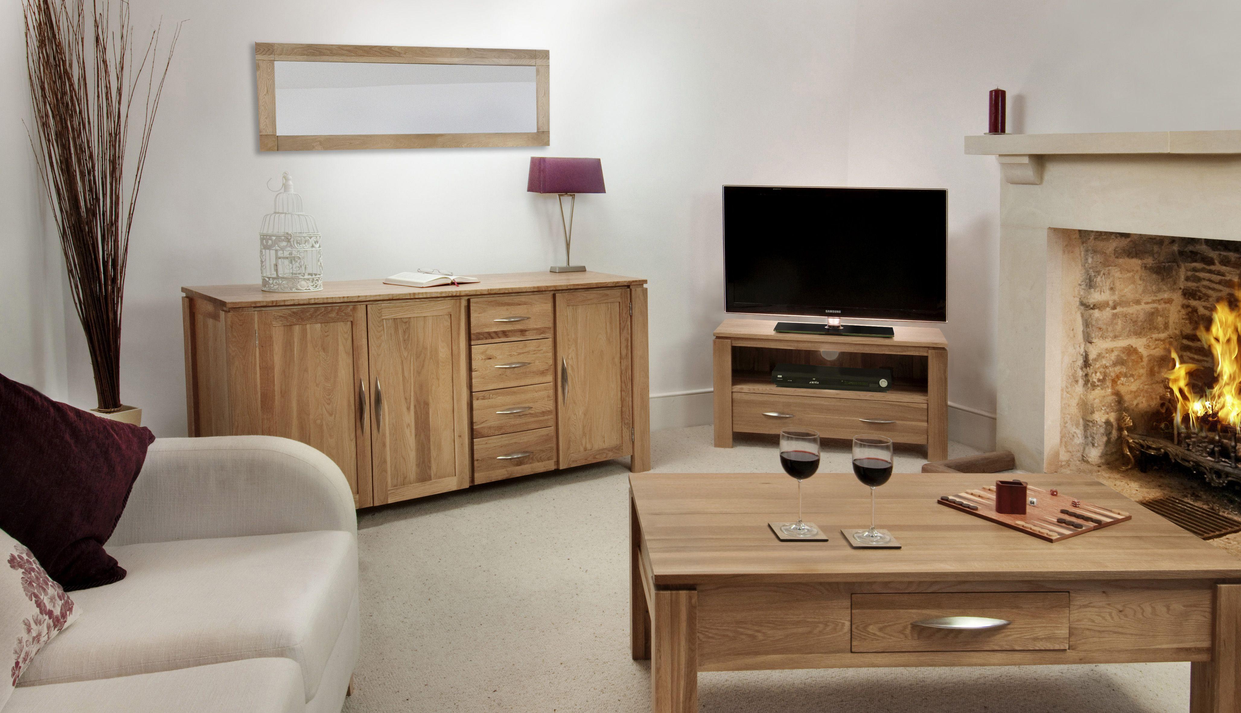 Galway Solid Oak Funiture Range Oak Living Room Furniture Collection