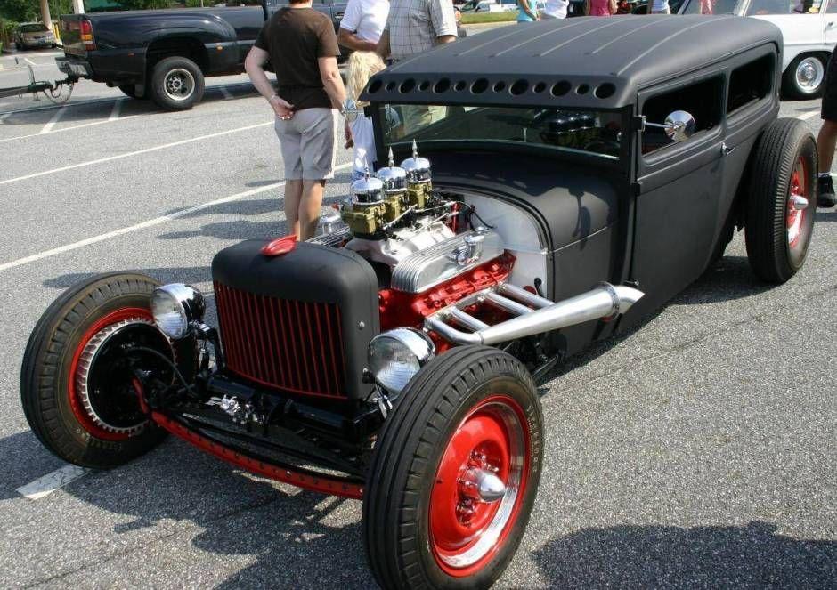 1928 Ford Model A Sedan Rat Rod Rat rod, Hot rod trucks