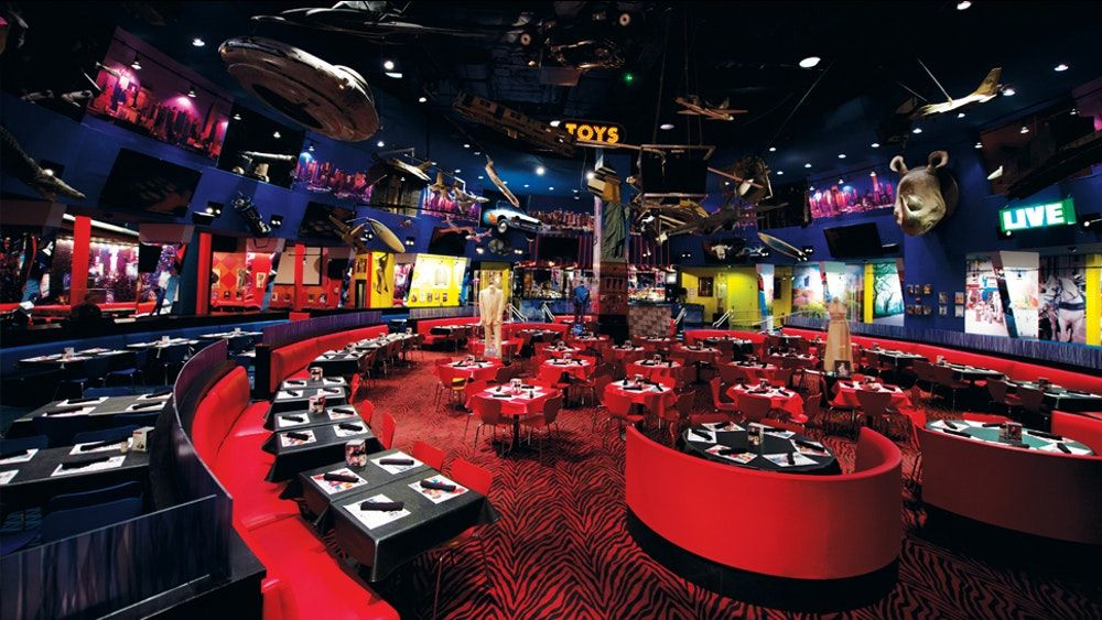 Planet Hollywood Events