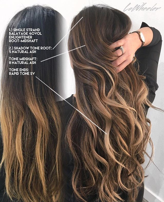 Orange County Hair Stylist On Instagram Hello My Loves Here Is A Simple And Effective Way To Bring Up An Grown Out Balayage
