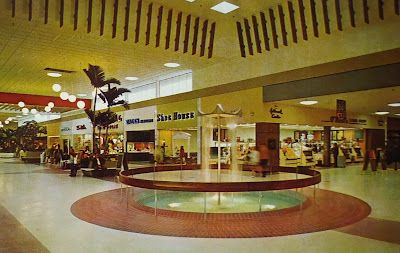 Interior Of Westshore Shopping Center Tampa Fl Tampa Florida