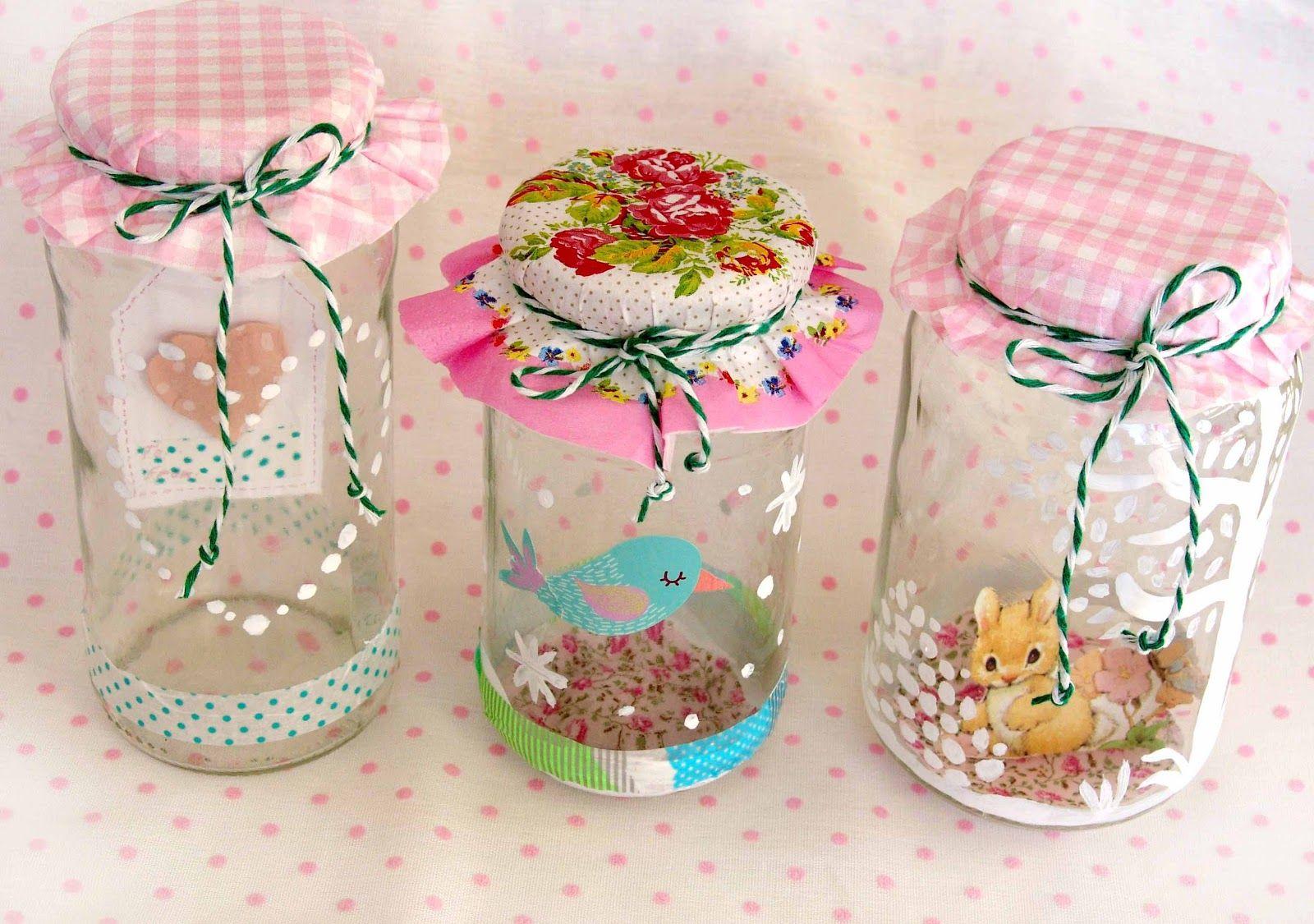 Botes cristal decorados buscar con google reciclando for Botes cristal decorados