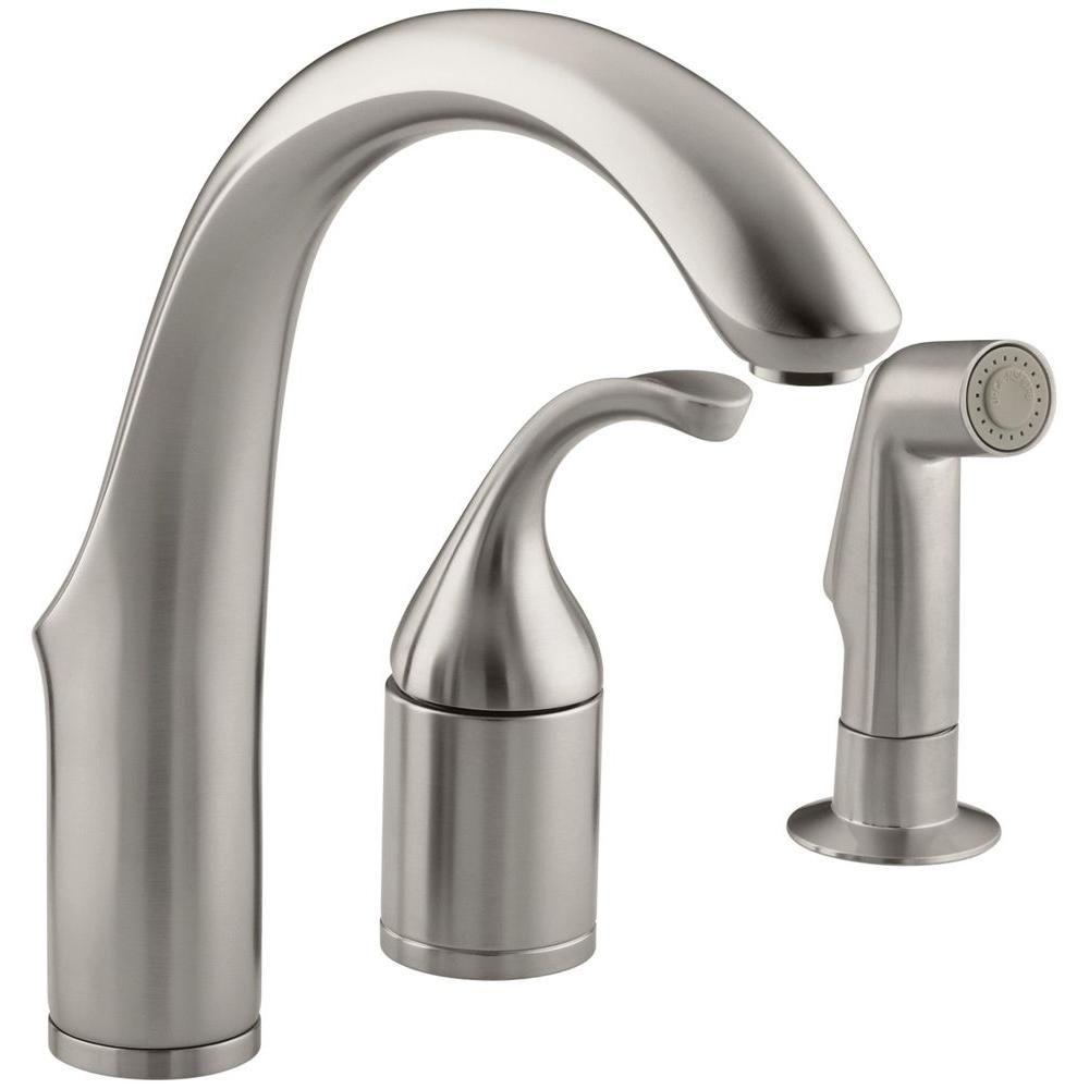 KOHLER Forte Single Handle Bar Faucet in Polished Chrome | Faucet ...
