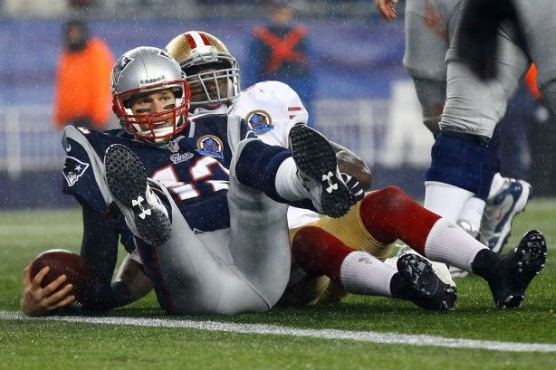 49'ers over the Patriots   Tom Brady and the Patriots came up just short in their comeback ...