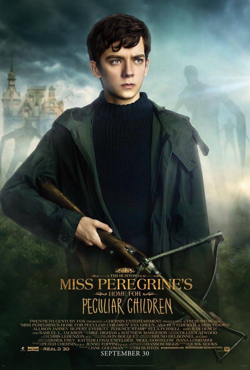 Miss Peregrine Y Los Ninos Peculiares Posters Individuales Con