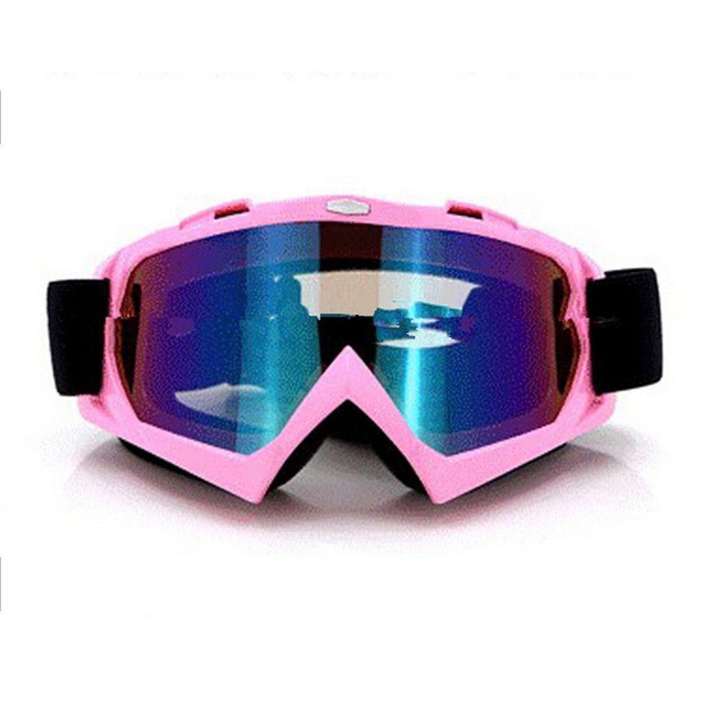 f35594b636 Adult Colourful double Lens Snow Ski Snowboard Goggles Motocross Anti-Fog  Fashion Eye Protection Pink Colourful