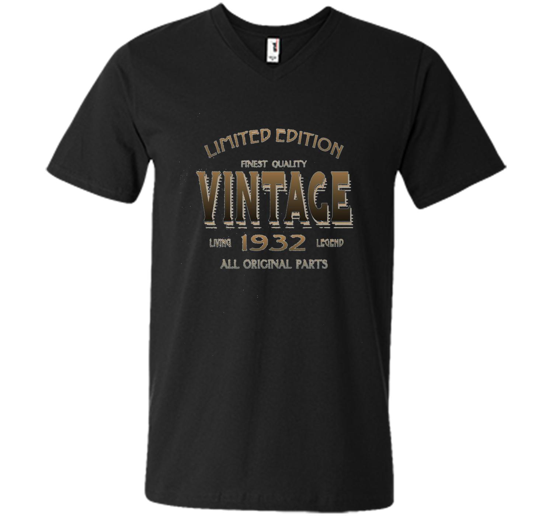 1932 T Shirt 85th Birthday Gift 85 Year Old B Day Present
