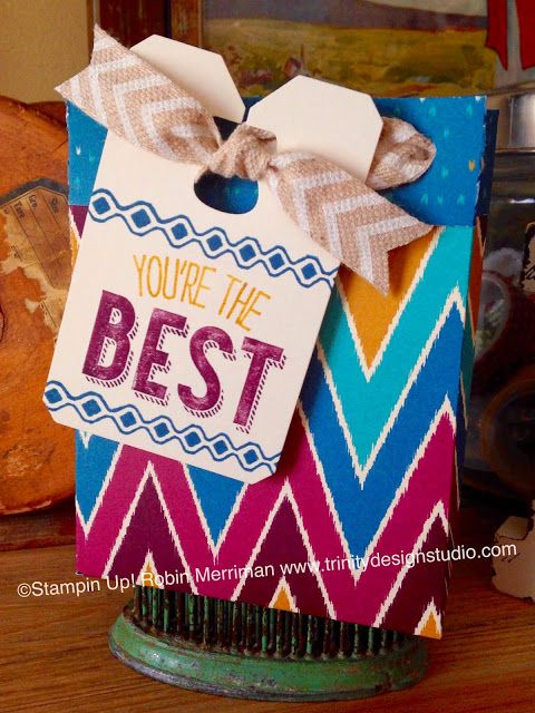 Trinity Designs: Playing With Sneak Peek Toys - The Gift Bag Punch Board!