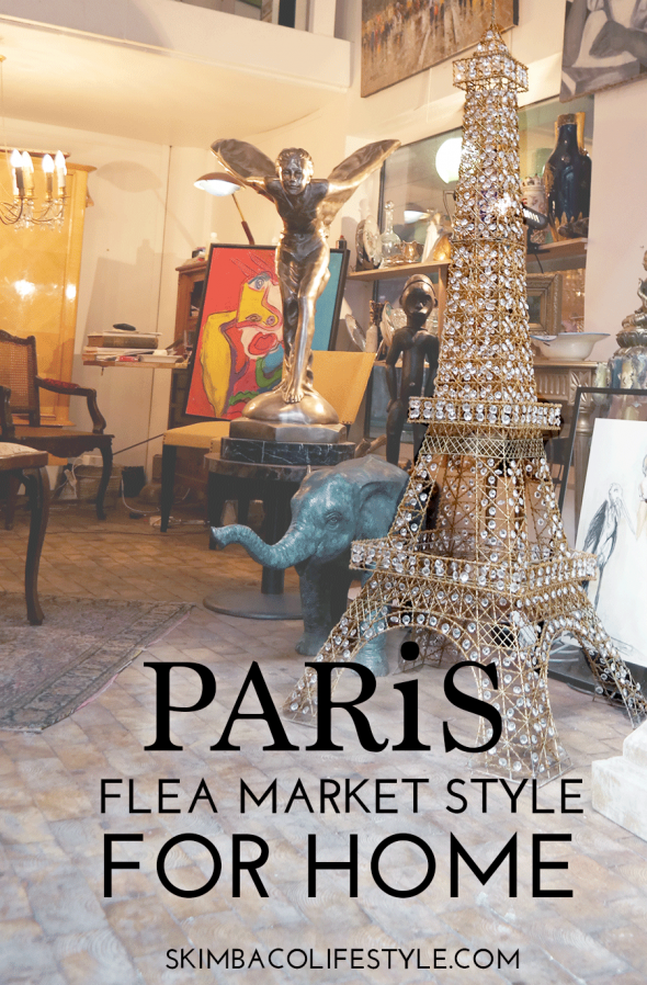 Paris flea market chic style for home via @skimbaco | My Home ...