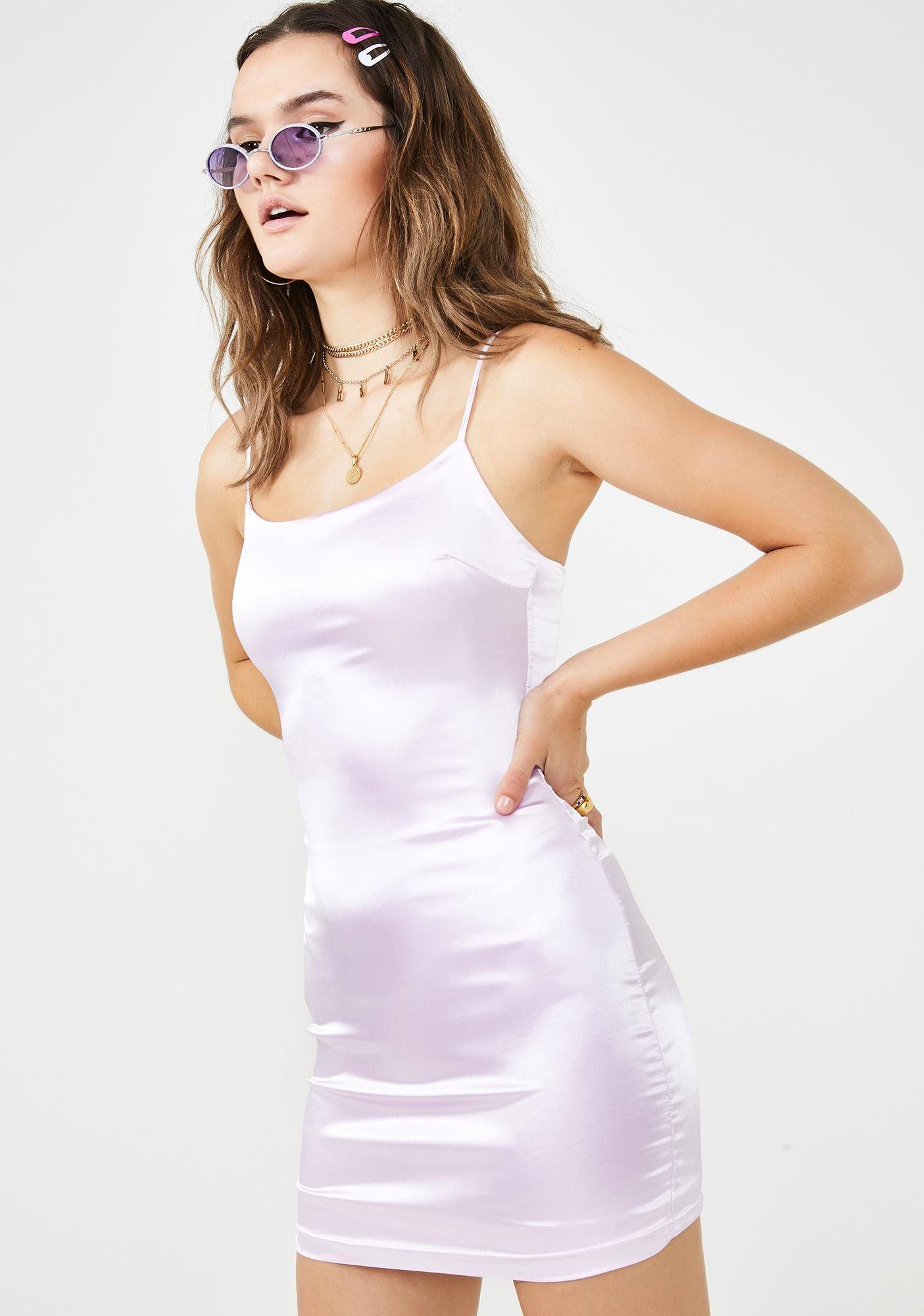 Lilac lemonade satin dress purple mini dresses dresses