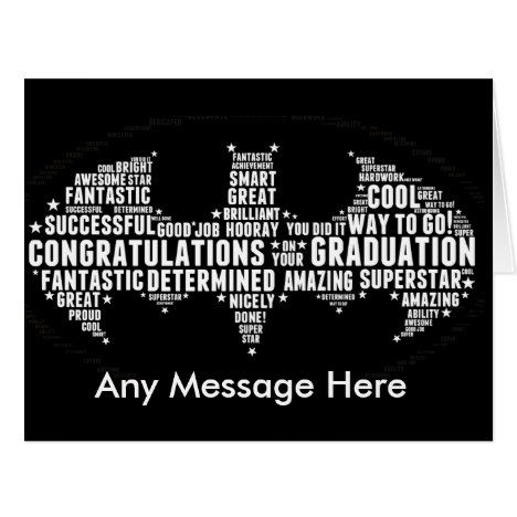 Graduation greetings card well done any message graduation graduation greetings card well done any message m4hsunfo Images