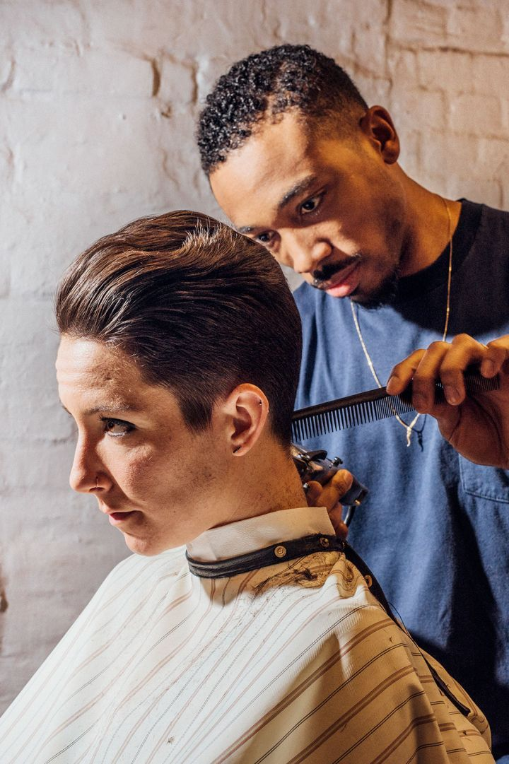 Women Are Heading To The Barbershop Instead Of The Salon Barber