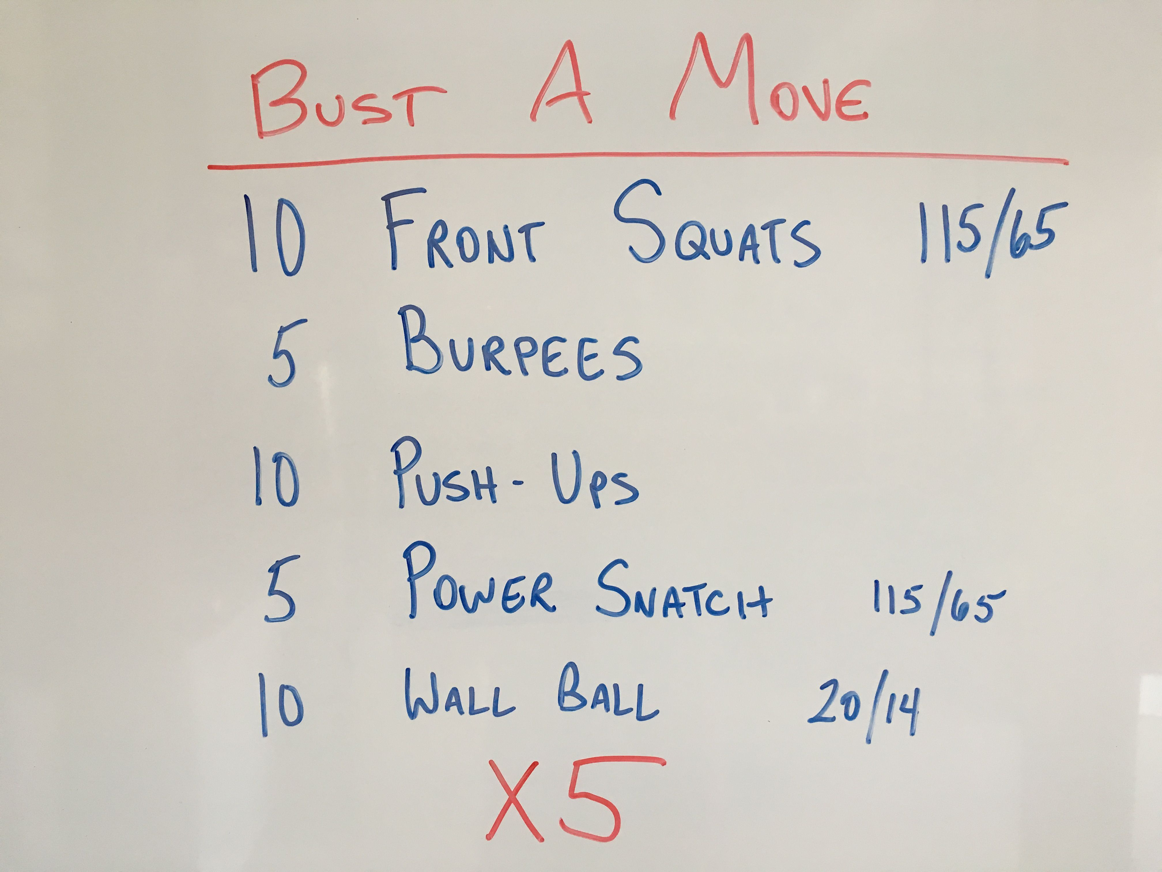 Wod from the garage crossfit gym workouts wod workout
