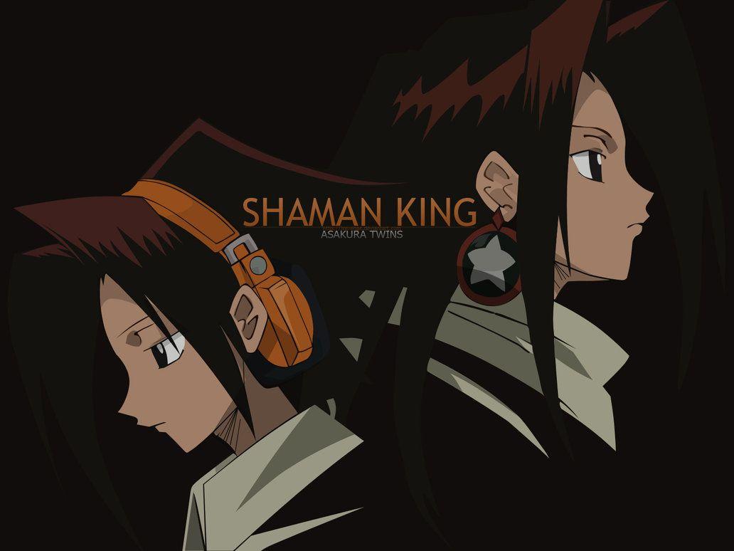Shaman King Asakura Twins By Https Jrevenge Deviantart Com On Deviantart Shaman King Shaman Asakura