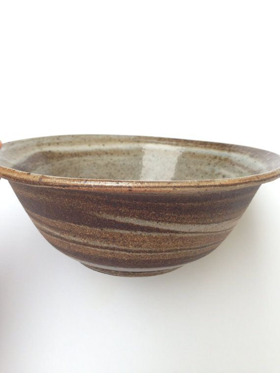 Agateware Bowl  Marbled Clay Bowl  Handmade by CoraCeramics