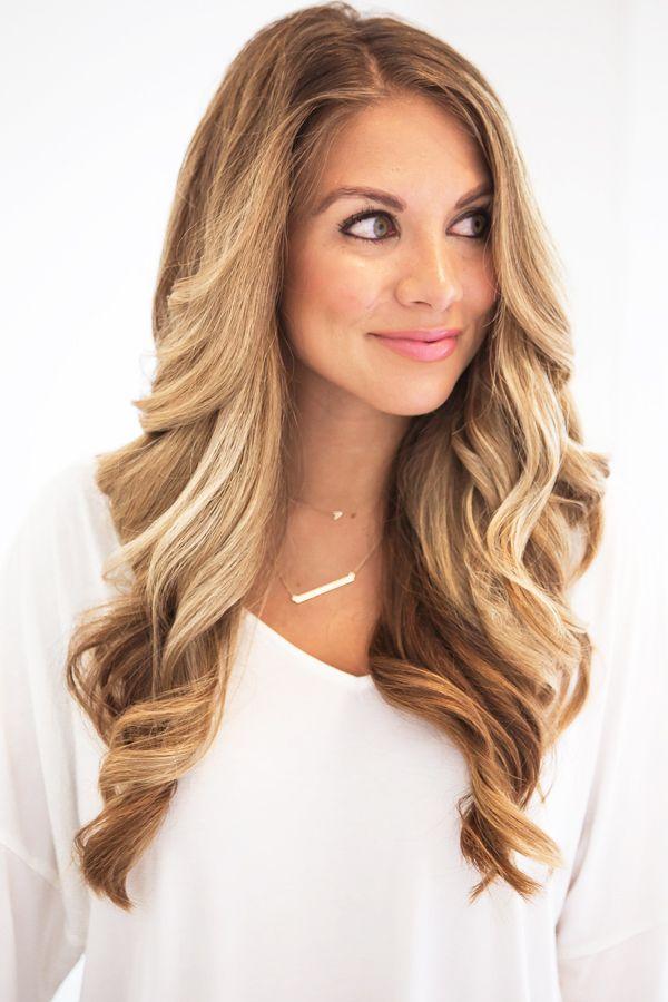 How to get big curls the teacher diva hair makeup big loose curls urmus Images