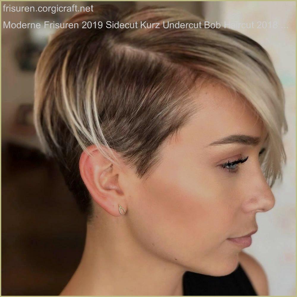 Moderne Frisuren 11 Sidecut Kurz Undercut Bob Haircut 11