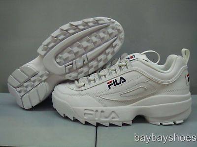 fila disruptor mens. fila disruptor ii 2 white/peacoat blue/red cross-training trainer us mens sizes for usd56.99 #clothing #shoes #accessories #cross-training like the fila disruptor mens n
