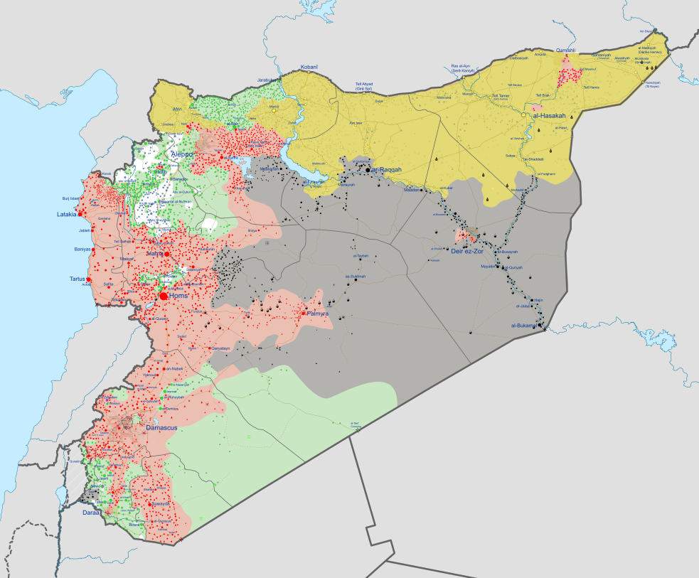 Russia Map After Ww2%0A Syrian Civil War map svg