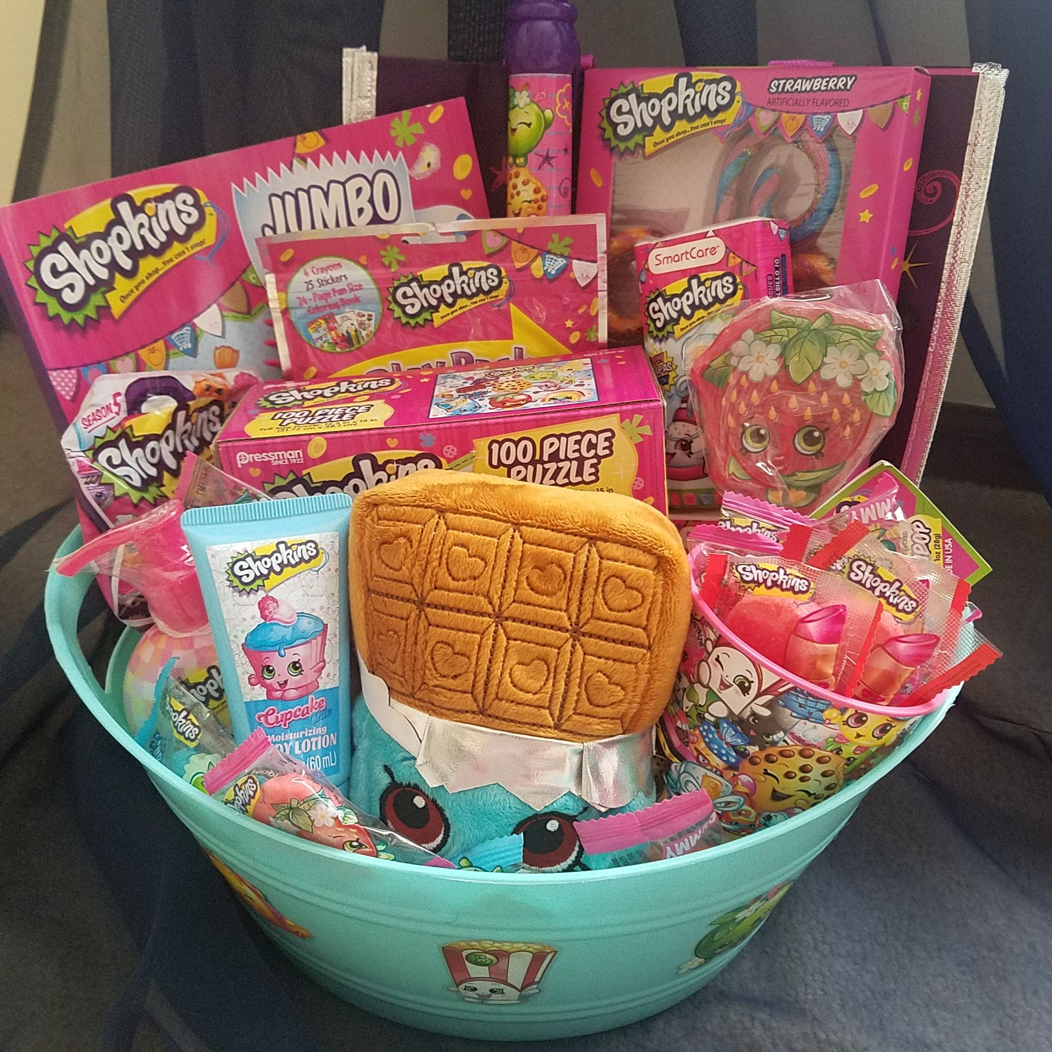 Shopkins Gift Basket Easter Shopkins Gifts Christmas