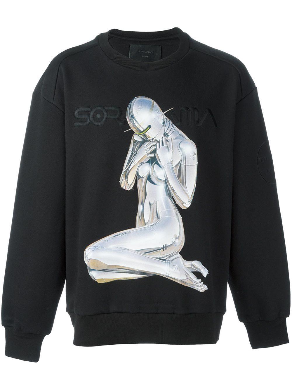 Sorayama Robot Sweatshirt