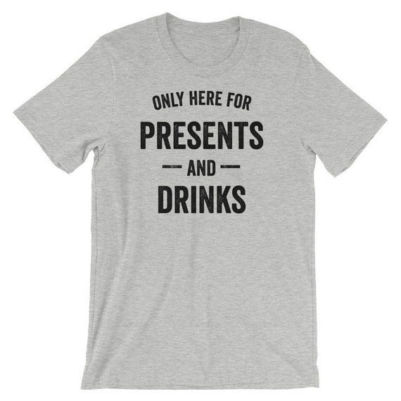 Funny Drinking Shirt Christmas Birthday Alcohol S