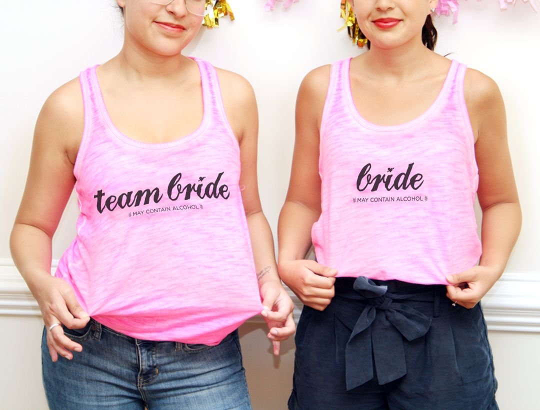 Team Bride Bachelorette T-shirts