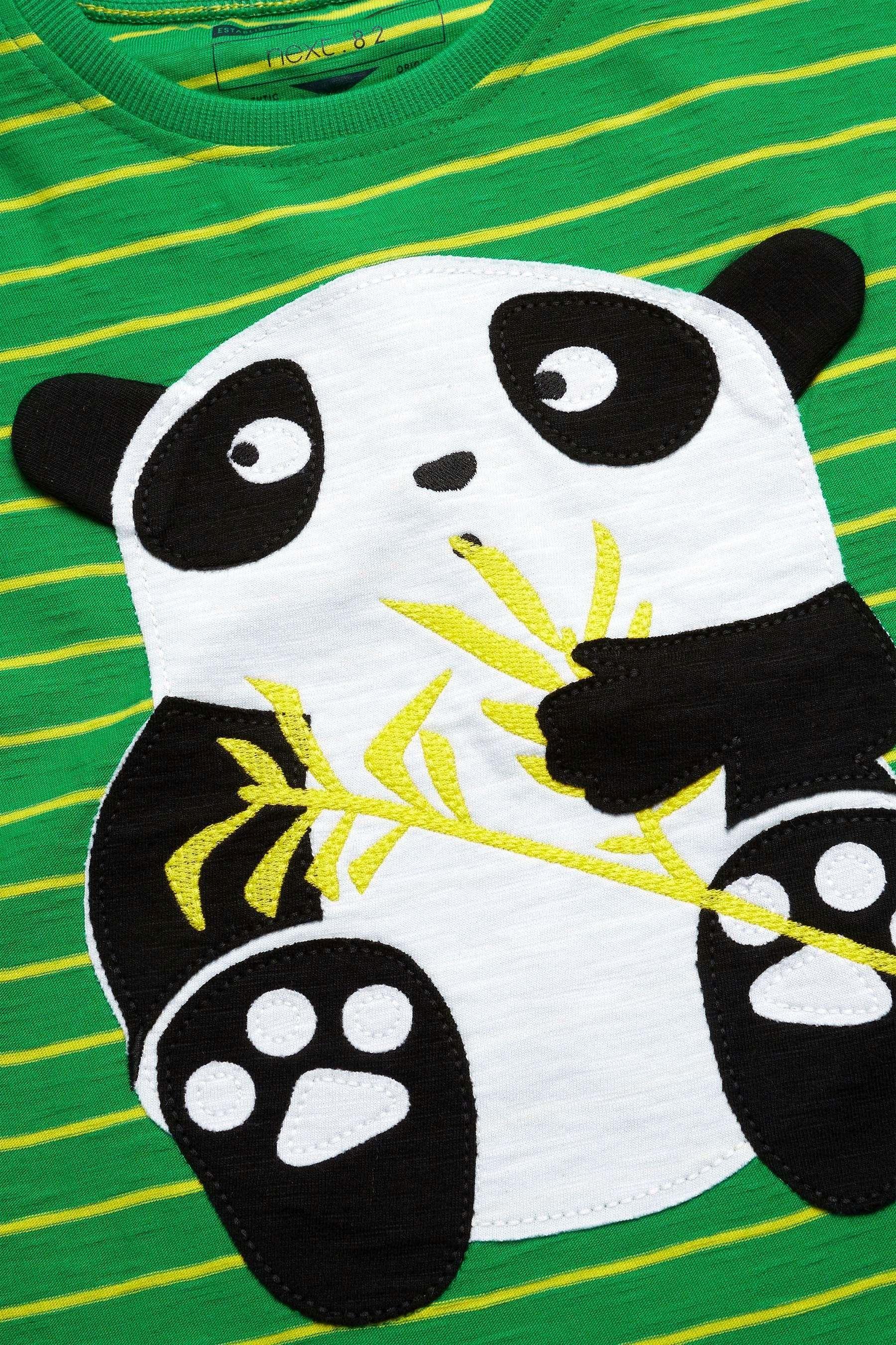 10ca0cfe2413 Buy Green Panda T-Shirt (3mths-6yrs) from the Next UK online shop ...
