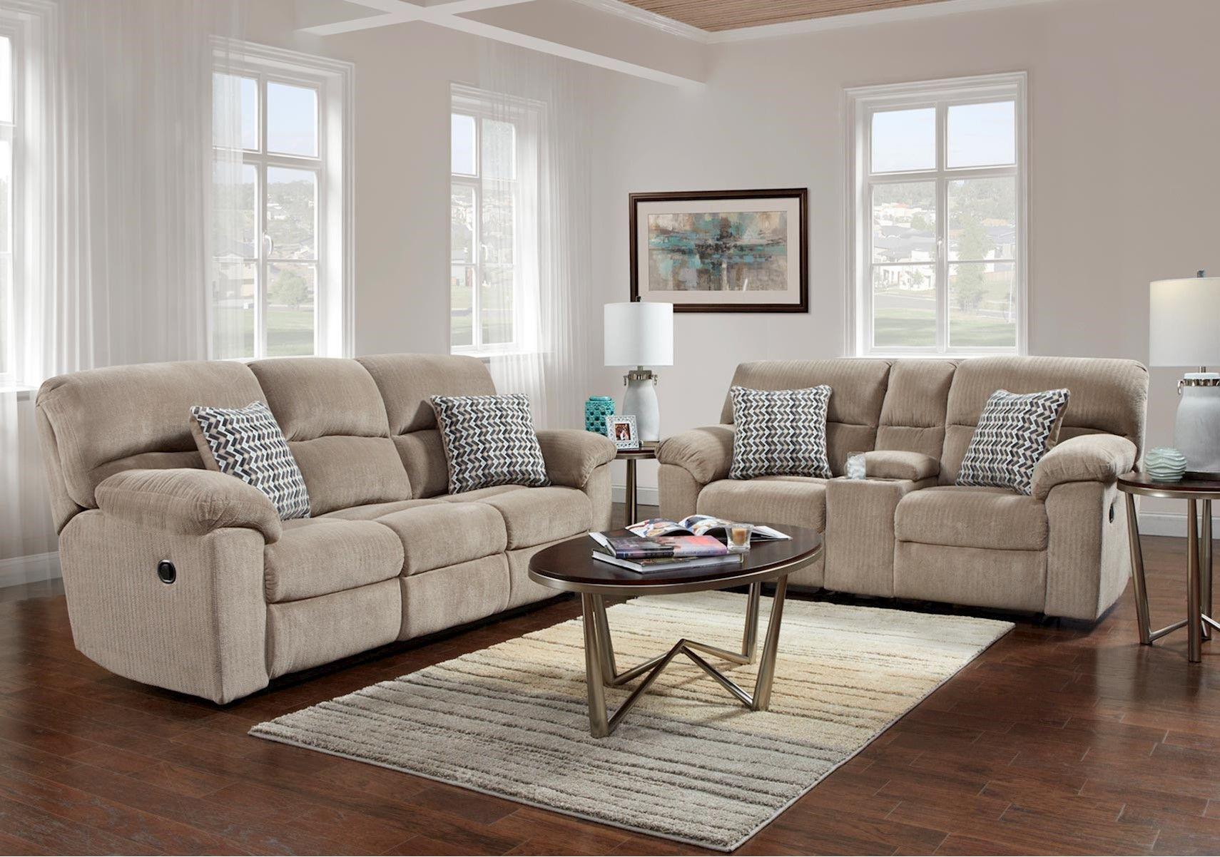 Lacks Chevron Seal 2 Pc Reclining Living Room Set Reclining