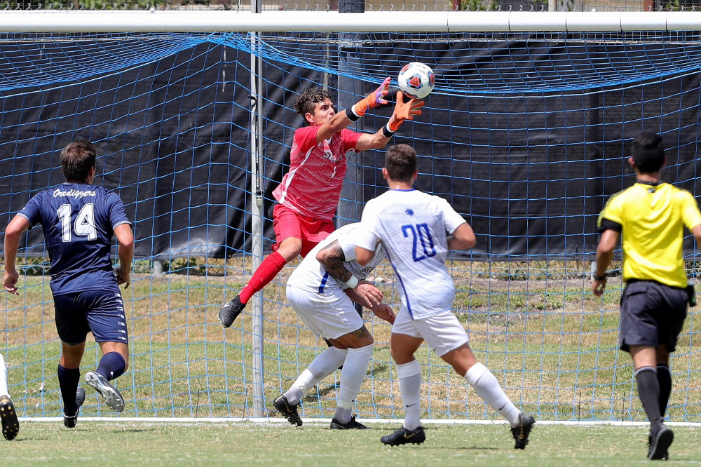 St Mary S University Men S Soccer Draws 1 1 With Lubbock Christian To Extend Unbeaten Streak To 10 Rattlers Stmu Soccer Mens Soccer Soccer Drawing Soccer