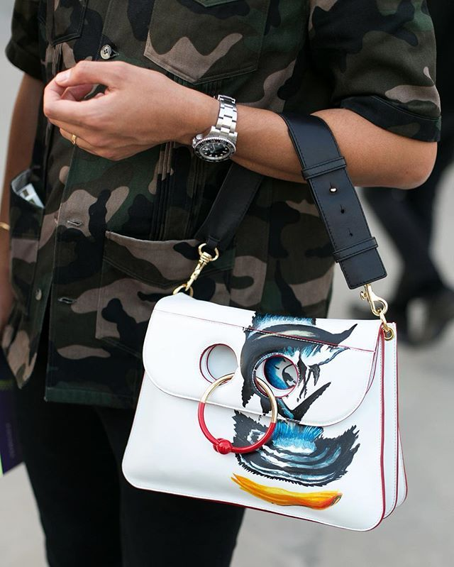 whatAboy! Milan fashionweek #wgatAstreet @thecomplainers #bryanboy #jwanderson #bag #detail #accessories #fashion #moda #streetstyle #milan #fashionweek #mfw #thecomplainers #adrianocisani