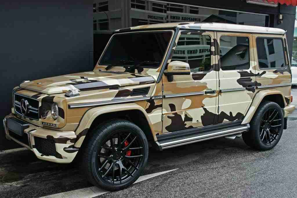 Amazing Mercedes G63 Amg In Desertcamo Mercedes Jeep Camo