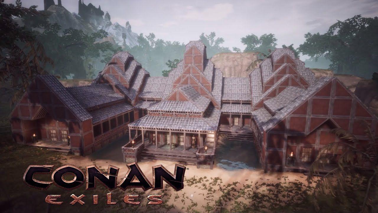 Conan Exiles Temple Of The White Tiger Khitan Dlc Speed Build Conan Exiles Conan Conan The Barbarian