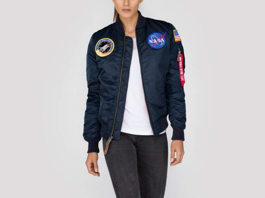391dd75a5 Alpha Industries Women Flight Jacket | MA-1 VF Nasa Wmn Article no ...