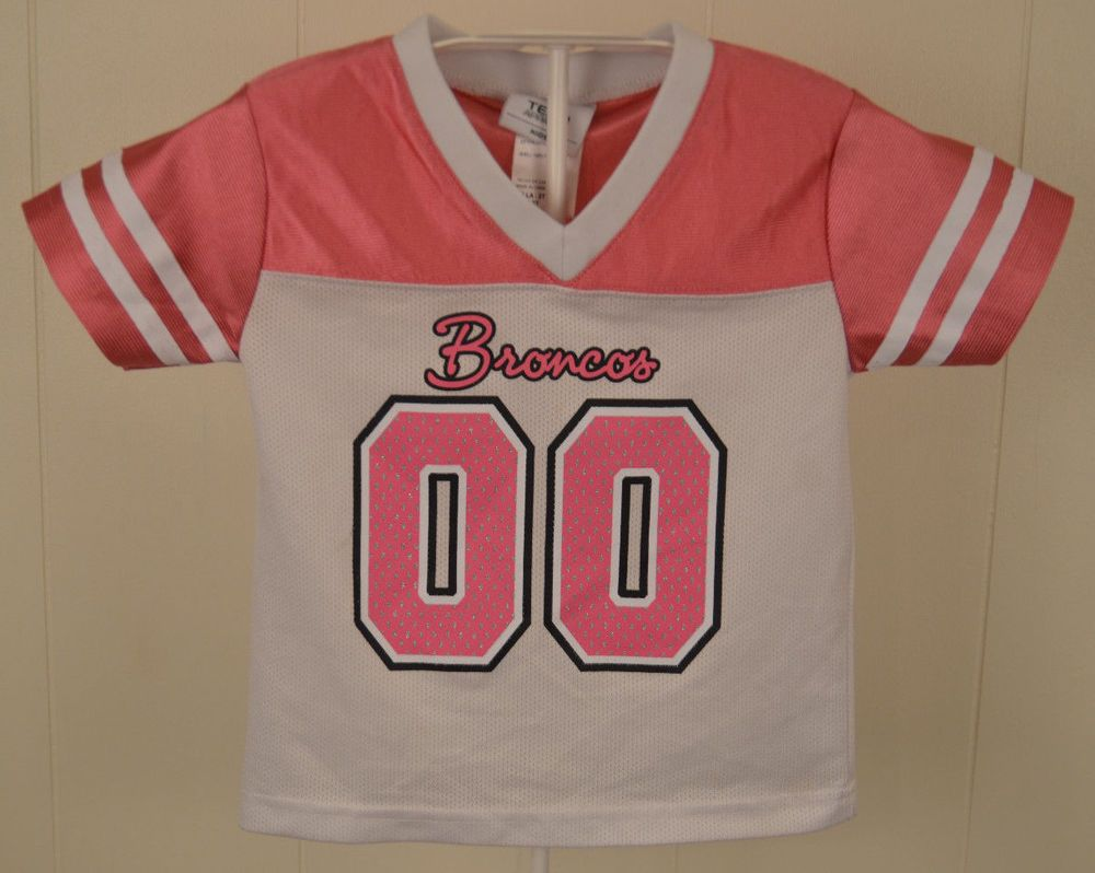 754a53ca NFL Kids Denver Broncos #00 Football Jersey Toddler Size 2T White ...
