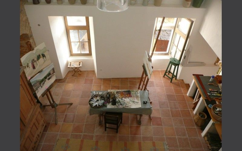 atelier sol terre cuite carrelage terre cuite int rieur flooring tiles et tile floor. Black Bedroom Furniture Sets. Home Design Ideas