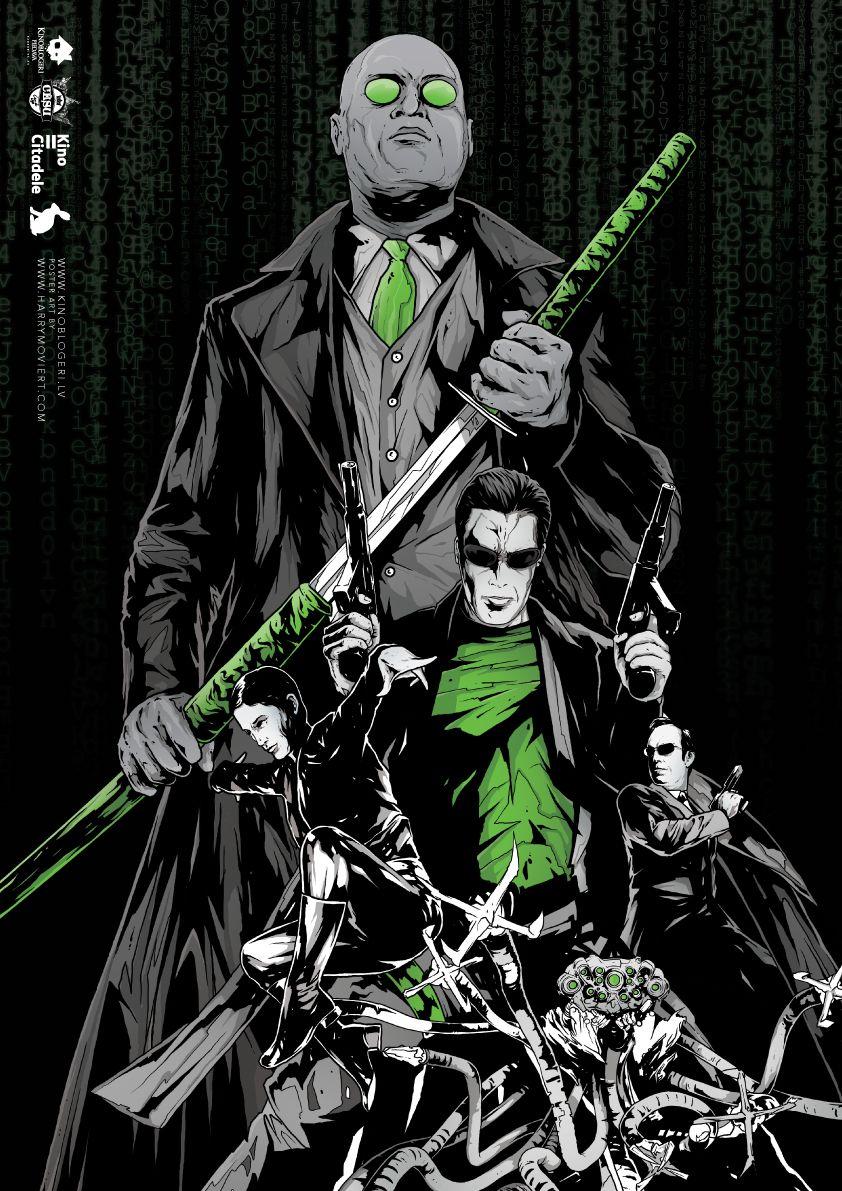 The Matrix 1999 842 X 1191 By Reddit Pi In Movieposterporn