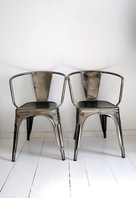 Clasicos del diseño: xavier pauchard y silla tolix. estilo ...